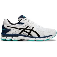 ASICS GEL-RINK SCORCHER 4 - MENS BOWLS SHOES WHITE/BLACK (2E & 4E)