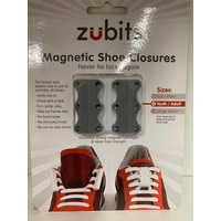 Zubits (Magnetic Shoe Closures) *Grey*